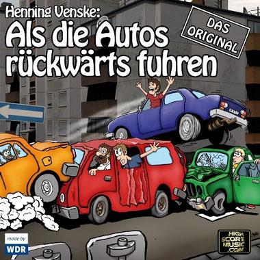 CD-Cover Als die Autos rückwärts fuhren