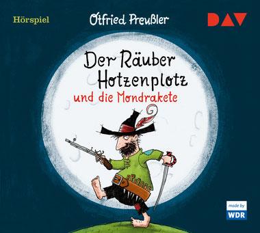 CD-Cover Räuber Hotzenplotz und die Mondrakete