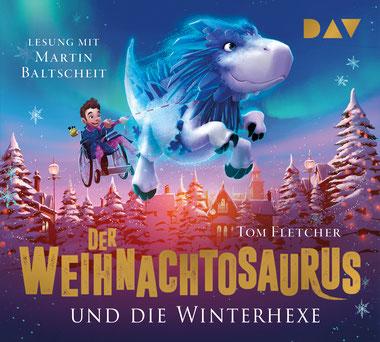 CD-Cover Der Weihnachtosaurus und die Winterhexe Teil 2