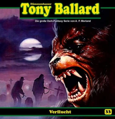 CD-Cover Tony Ballard - Verflucht