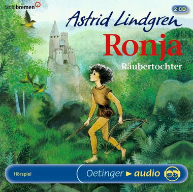CD-Cover Ronja Räubertochter