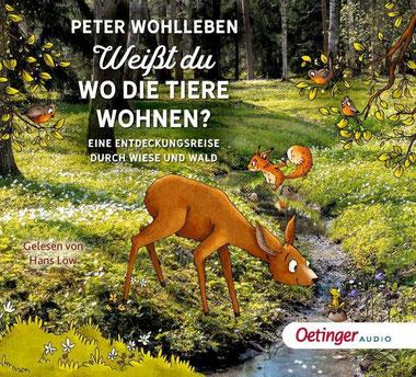 CD-Cover Weißt du, wo die Tiere wohnen?