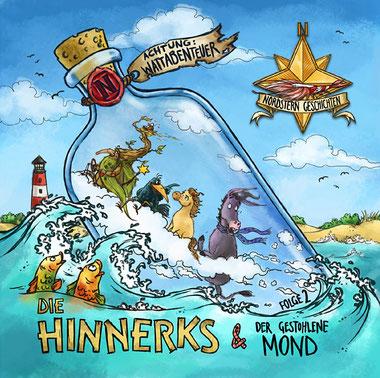 CD-Cover Die Hinnerks Folge 2