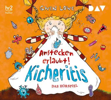 CD-Cover Kicheritis - Anstecken erlaubt