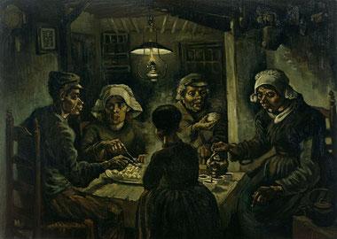 Едоки картофеля - Винсент Ван Гог