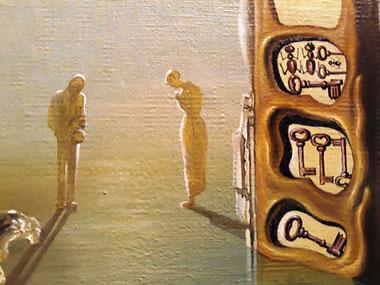 Картины Сальвадора Дали. Имперский монумент женщине-ребенку