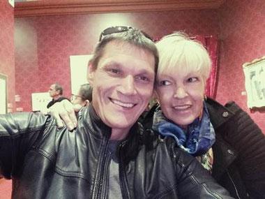 Sergei and Tatiana tour guides Barcelona