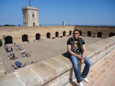 Крепость Монжуик Барселона