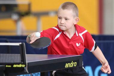 Sieger bei den B-Schülern: Viktor Sobetskiy
