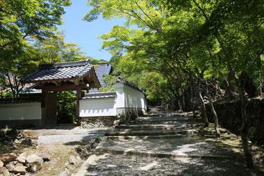 寂定院(写真提供:神峯山寺)