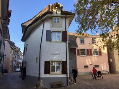 Das Vereinslokal im Schiefeneck des Natur und Vogelschutzvereins Rheinfelden