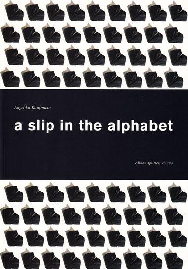 a slip in the alphabet Angelika Kaufmann