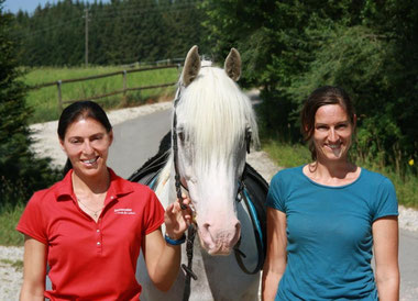 Asfaloth and I with Anja Beran