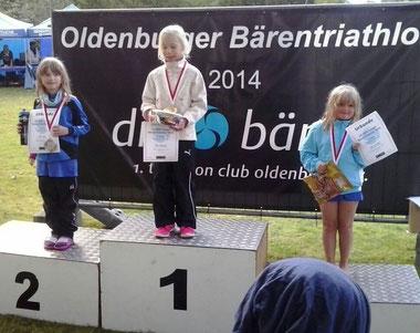 Alina von Döllen erreichte den dritten Platz in ihrer Altersklasse.