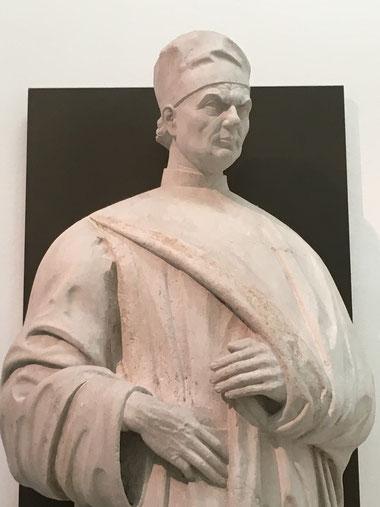 La statua di Giovanni Emo al Museo civico di Vicenza