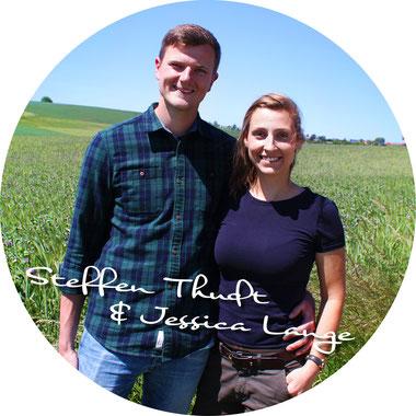 Steffen Thudt und Jessica Lange