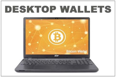 come funziona un desktop wallet