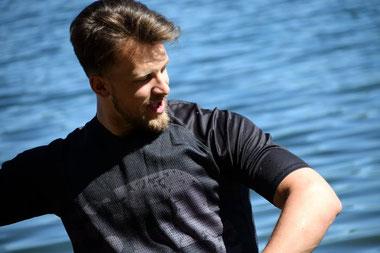 B360 Riding Shirts Wake-Jersey Funktionsshirt fürs Wasser quick dry Rashguard Wassersport Wakeskate Wakeboard Kite Trapezöffnung Surfen Ridershirt Wakeshirt Kleidung schnelltrocknend Camp Trikot Verein SUP Lycra schwimmen Oberteile Wakesurf Boarder Pulli