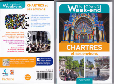 Le guide Hachette Un grand week-end à Chartres coûte 8,95 euros