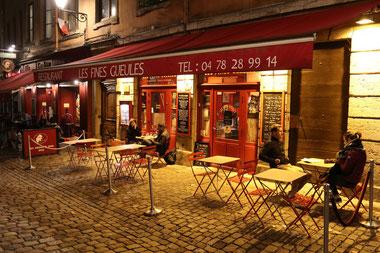 Bouchon in der Altstadt von Lyon