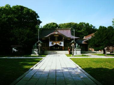 根室金刀比羅神社 本殿写真