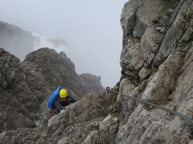 Klettersteig Mindelheimer : Aktuelle verhältnisse mindelheimer klettersteig und