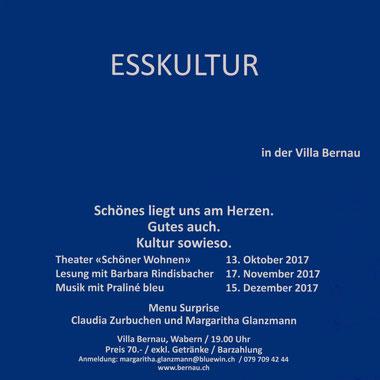 Lesung mit Barbara Rindisbacher in der Villa Bernau