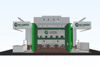 3D Messestand-Planung von ASCOPLAN Messebau