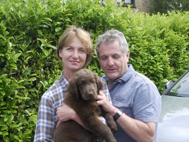 Birgit und Joachim mit Leo