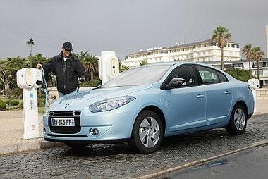 Renault Fluence Z.E. auch in Deutschland erhältlich
