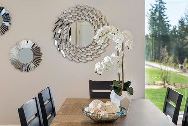 model home staging, University Place