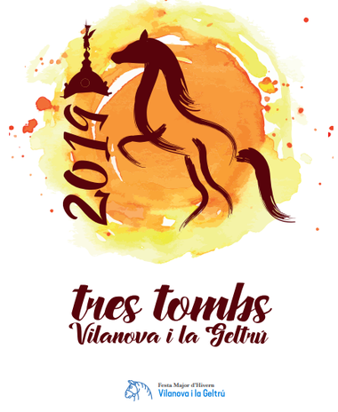 Fiestas en Vilanova i la Geltru Tres Tombs Festa Major