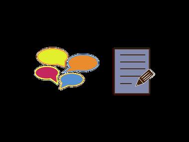 Rhetorik+ bietet Ihnen gesprochene und geschriebene Kommunikation