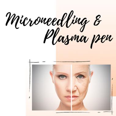 Microneedling, Plasma pen