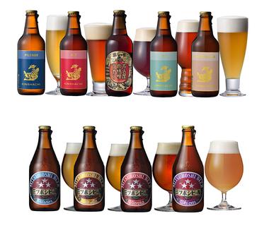 金しゃちビール5種&ミツボシビール4種画像