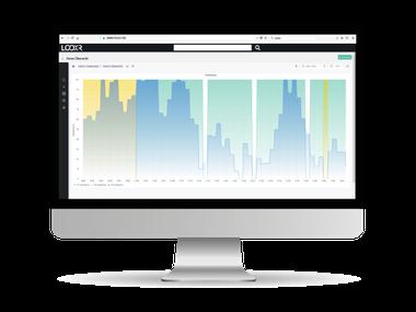Smart Data  reale Messwerte vergleichen, auswerten mit LOOXR-Portal