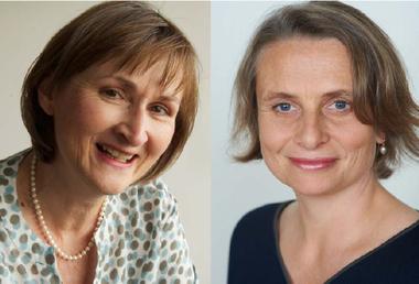 Barbara Rindisbacher und Katharina Wehrli