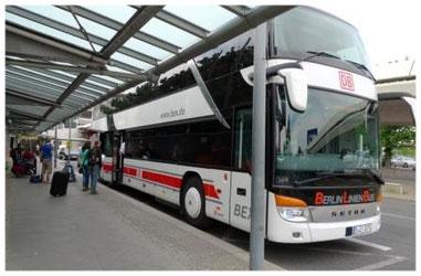 ein Fernbus von BerlinLinienBus