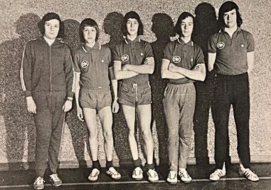 Jugendmannschaft: Meister der B-Klasse und Pokalsieger des Ostsaarkreises 1972/73 | Stefan Ruppert, Dominique Schweitzer, Hans-Martin Schweitzer, Klaus-Dieter Schweitzer, Wolfgang Bastian