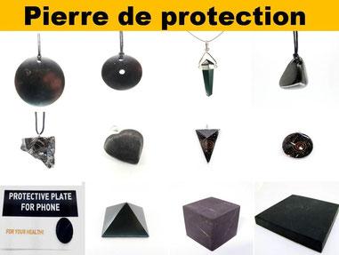 Pierre de protection - - Boutique de minéraux - Casa bien-être.fr