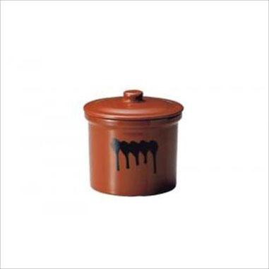 ヤマキイカイ 紅星窯 漬物容器 蓋付切立瓶 3号 サイズ:径23.5×高さ25cm素材・材質:陶器 製造国:中国 容量:5.4L容器重量 2.9 [kg]安全安心 鉛・カドミウム検査合格品 陶器は安全な素材です 環境ホルモンは出ません
