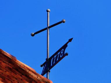 Wetterfahne Kirche Userin