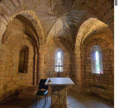 La Cripta Romanica sottostante la Chiesa