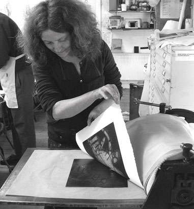 Lucy Gell printmaking