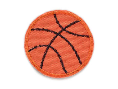 Basketball Applikation zum aufbügeln Aufnäher Patch Accessoire