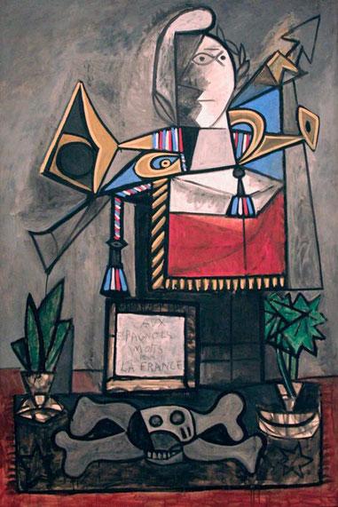 Momento a los españoles muertos por Francia, 1946-47. Museo Reina Sofia.