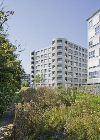 Überbauung Zellweger Park Uster, Herzog und de Meuron