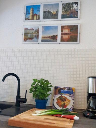 Küche Ferienhaus Neustrelitz