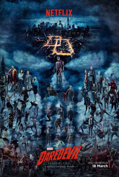 Daredevil vs. Punisher ist die Devise der 2. Staffel