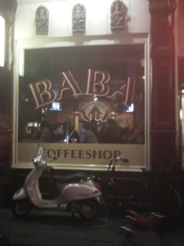 Coffeeshop Weedshop Baba Amsterdam